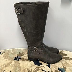 Life Stride heels below knee boot NWT